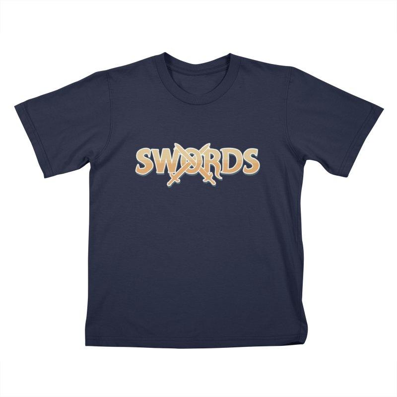 Swords Logo Kids T-Shirt by Swords Comics : The Store