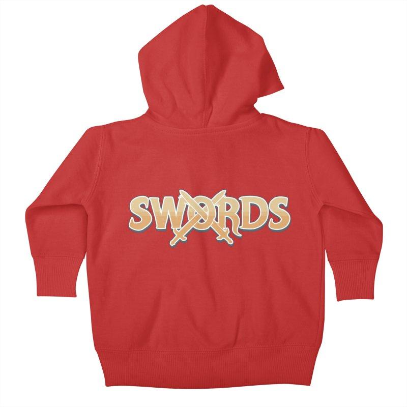 Swords Logo Kids Baby Zip-Up Hoody by Swords Comics : The Store