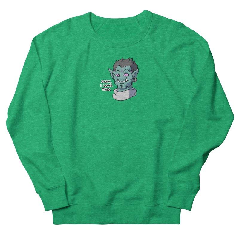 Okay, I love this. Women's Sweatshirt by Swords Comics : The Store
