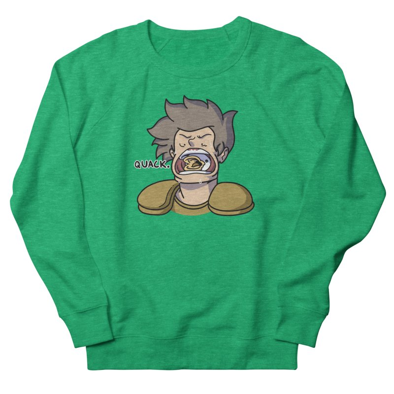 Quack. Women's Sweatshirt by Swords Comics : The Store