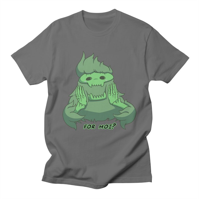 For Moi?! Quote Edition Men's T-Shirt by Swords Comics : The Store
