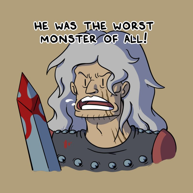 He Was The Worst Monster Of All Men's T-Shirt by Swords Comics : The Store