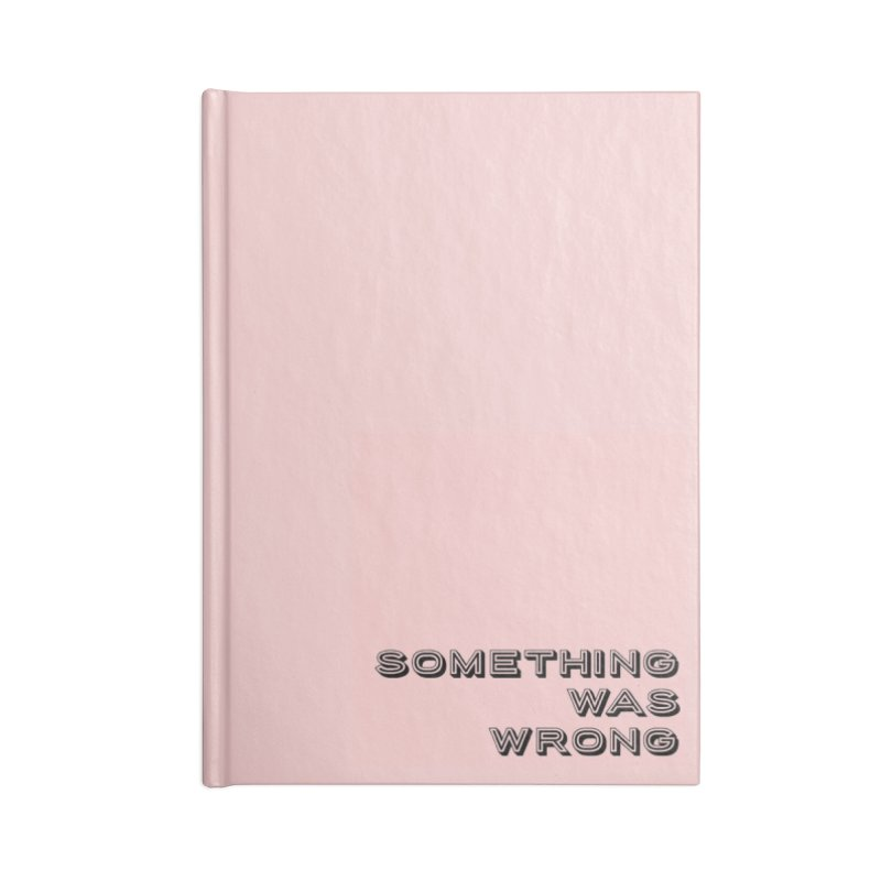 SWW MERCH Accessories Blank Journal Notebook by SWW MERCH