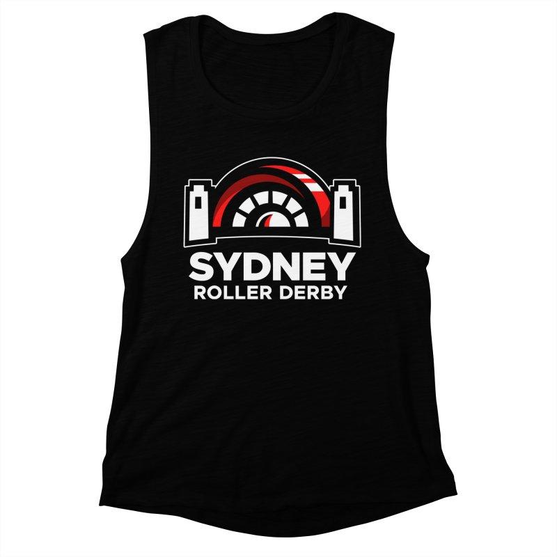 Sydney Roller Derby - Black Women's Muscle Tank by Sydney Roller Derby League Merchandise