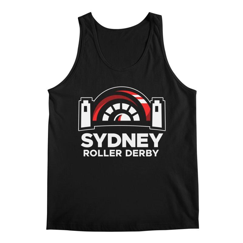 Sydney Roller Derby - Black Men's Regular Tank by Sydney Roller Derby League Merchandise