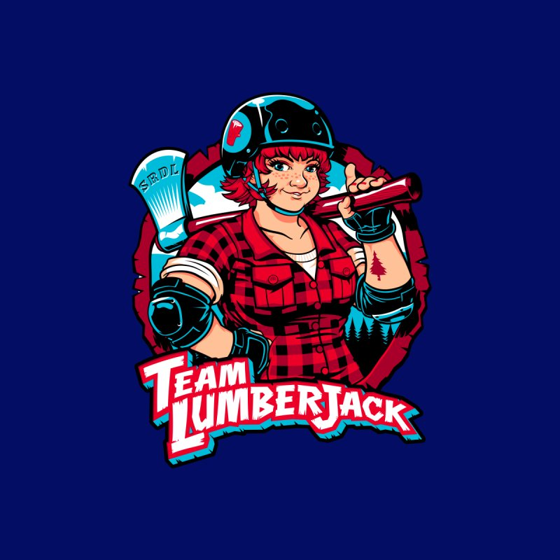 Team Lumberjack by Sydney Roller Derby League Merchandise