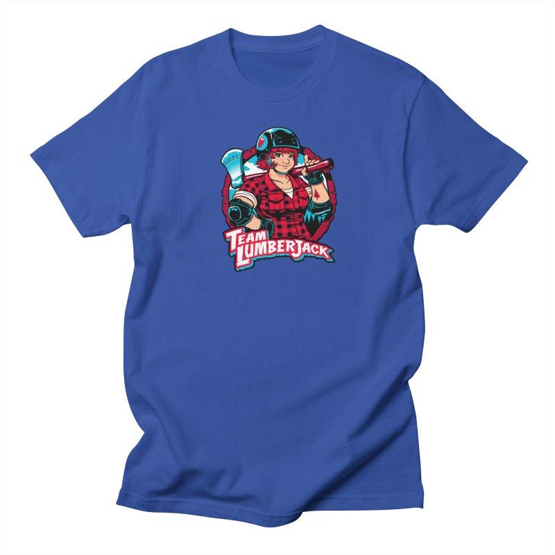 Team Lumberjack Men's T-Shirt by Sydney Roller Derby League Merchandise