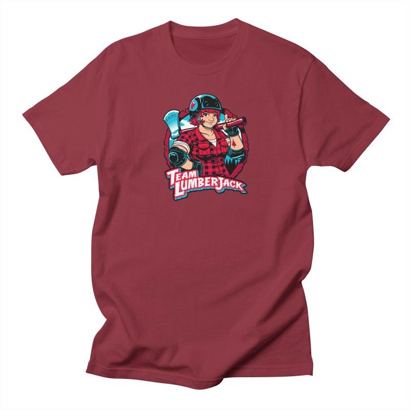 Team Lumberjack Men's Regular T-Shirt by Sydney Roller Derby League Merchandise