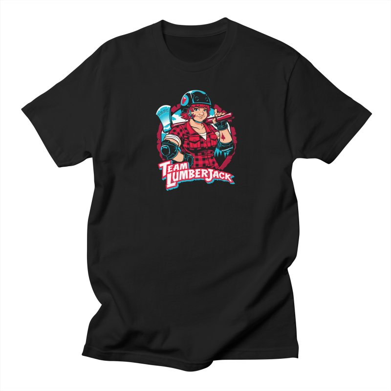 Team Lumberjack Men's Regular T-Shirt by Sydney Roller Derby League Merchandise