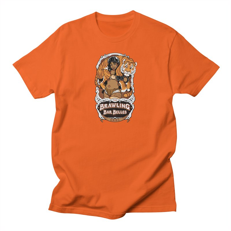 Brawling Bar Belles Men's Regular T-Shirt by Sydney Roller Derby League Merchandise