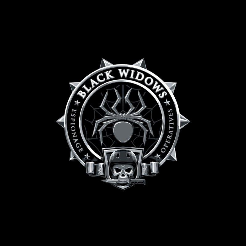 Black Widows by Sydney Roller Derby League Merchandise