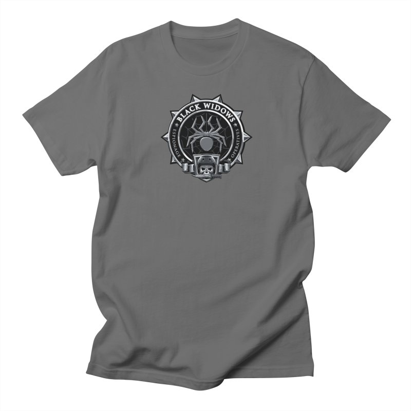 Black Widows Men's T-Shirt by Sydney Roller Derby League Merchandise