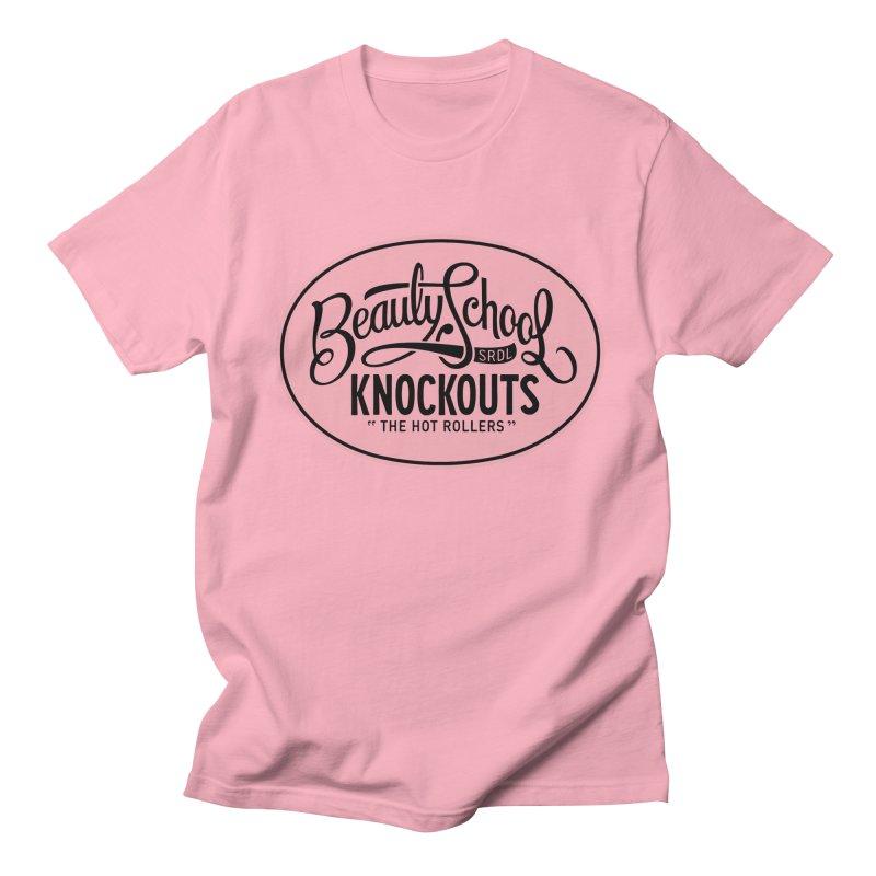 Beauty School Knockouts Men's T-Shirt by Sydney Roller Derby League Merchandise