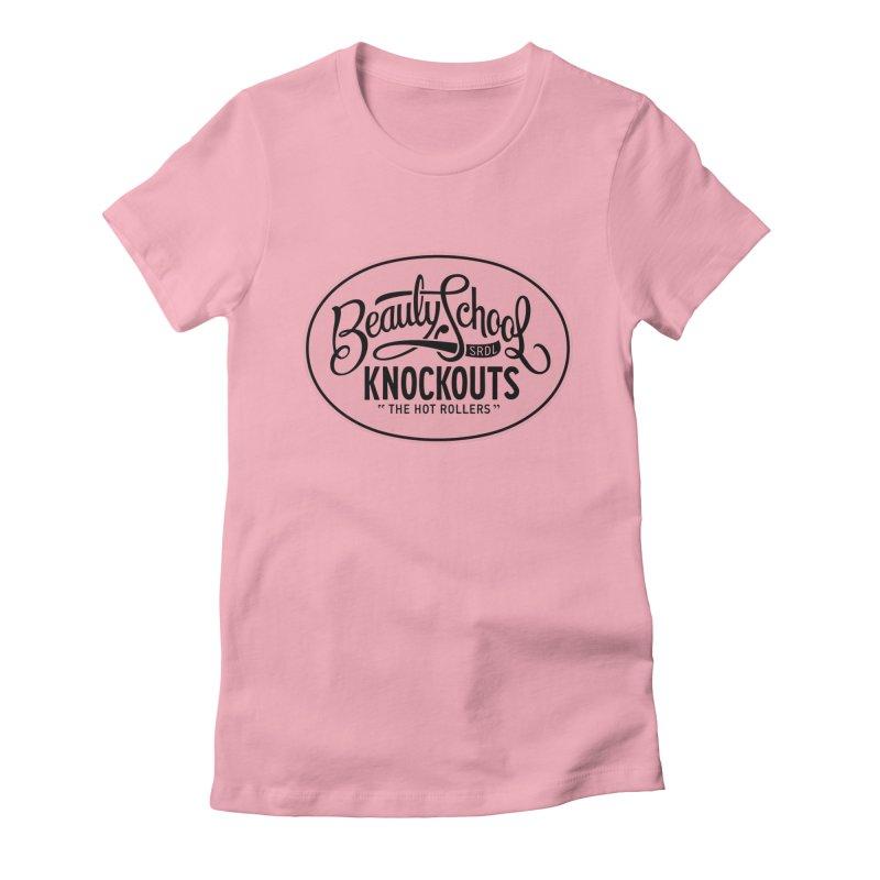Beauty School Knockouts Women's Fitted T-Shirt by Sydney Roller Derby League Merchandise