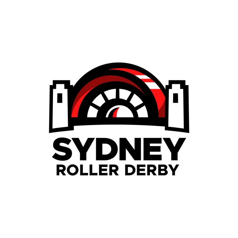 Sydney Roller Derby - White by Sydney Roller Derby League Merchandise