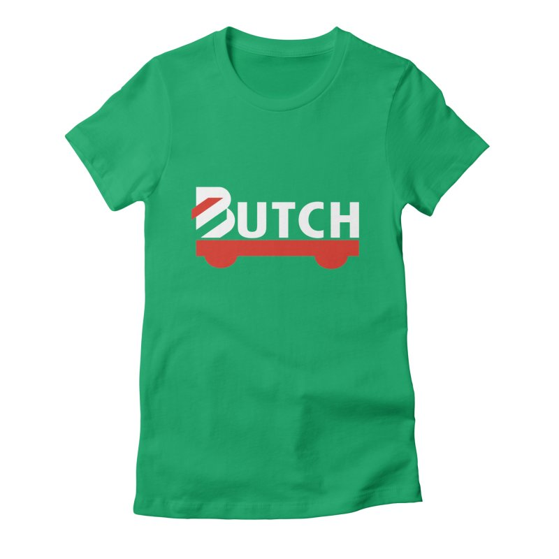 Pride Fight - Team Butch Women's Fitted T-Shirt by Sydney Roller Derby League Merchandise