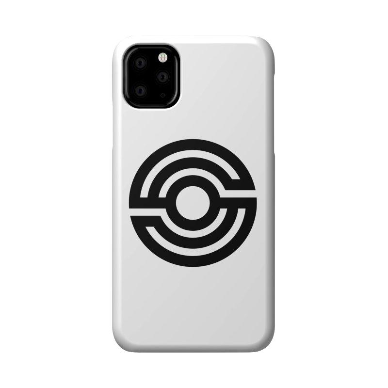 Handpan S Logo (Black) Accessories Phone Case by Handpan Merch (T-shirts, Hoodies, Accessories)