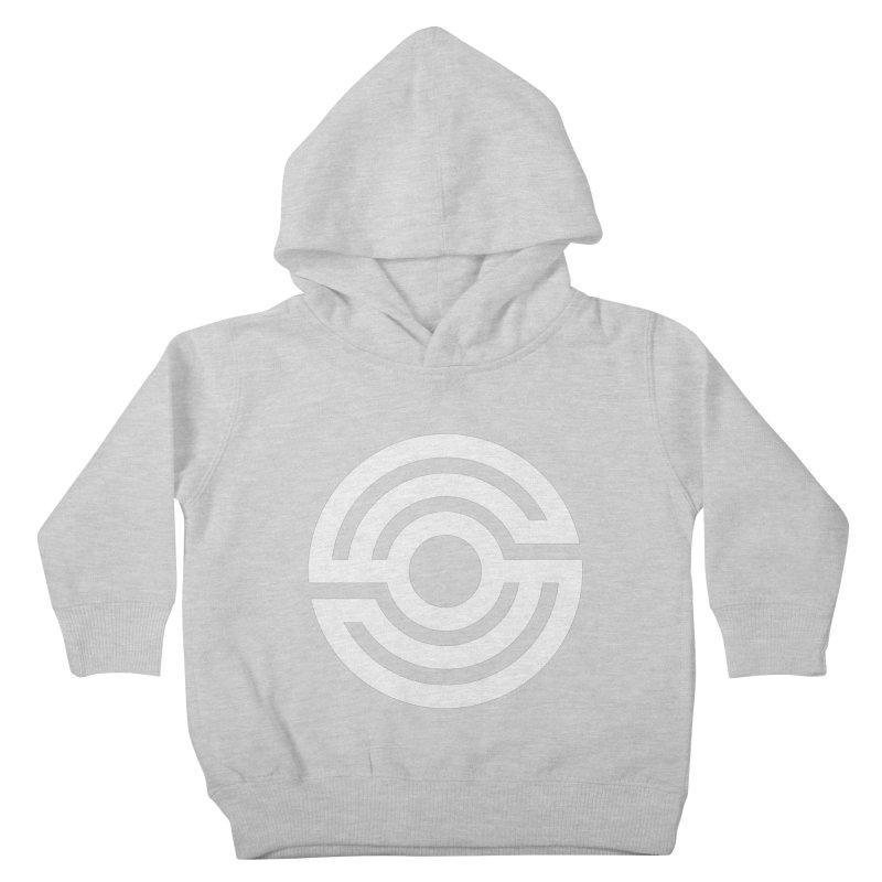 Handpan S Logo (White) Kids Toddler Pullover Hoody by Handpan Merch (T-shirts, Hoodies, Accessories)