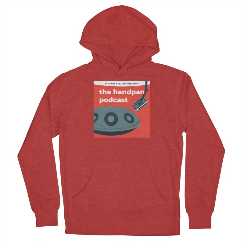 The Handpan Podcast Men's French Terry Pullover Hoody by Handpan Merch (T-shirts, Hoodies, Accessories)