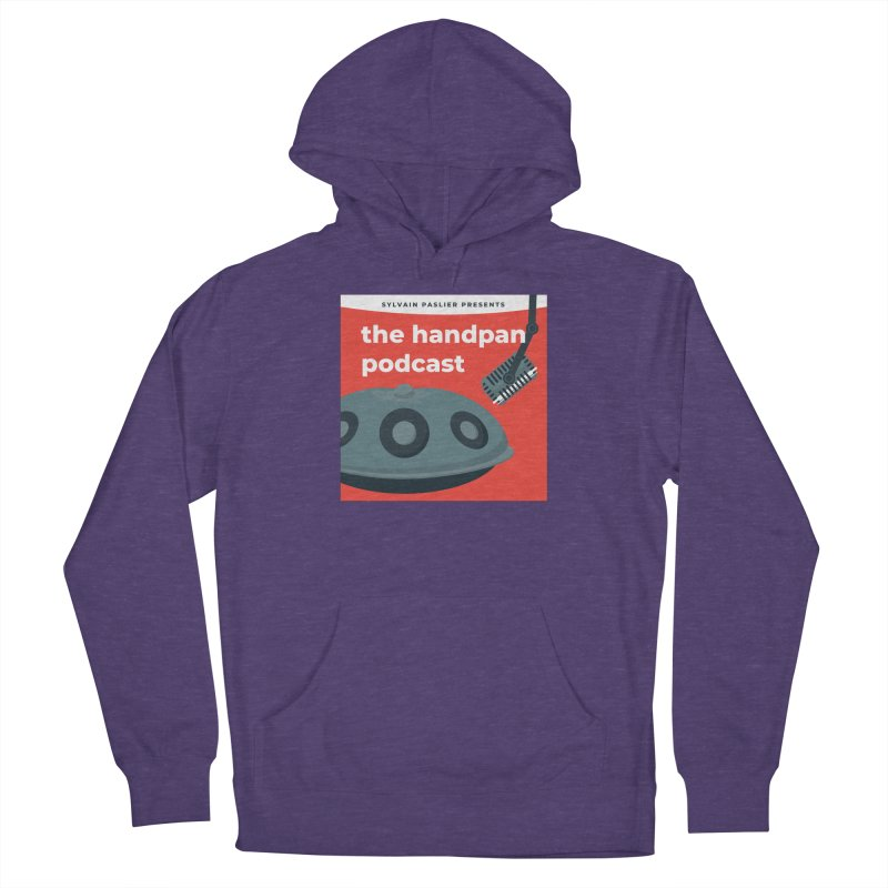 The Handpan Podcast Women's French Terry Pullover Hoody by Handpan Merch (T-shirts, Hoodies, Accessories)