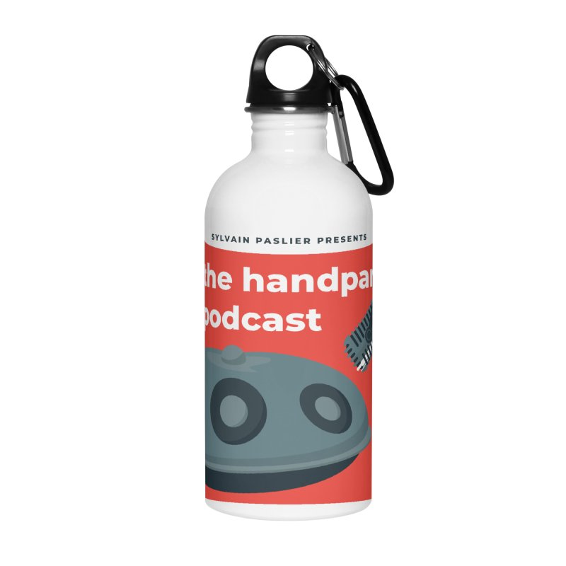 The Handpan Podcast Accessories Water Bottle by Handpan Merch (T-shirts, Hoodies, Accessories)