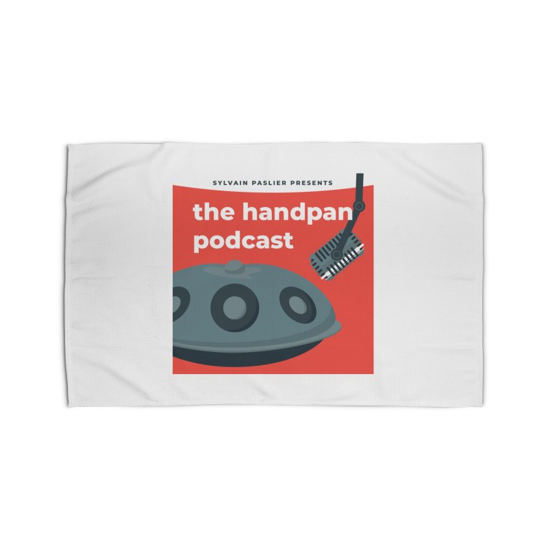 The Handpan Podcast Home Rug by Handpan Merch (T-shirts, Hoodies, Accessories)