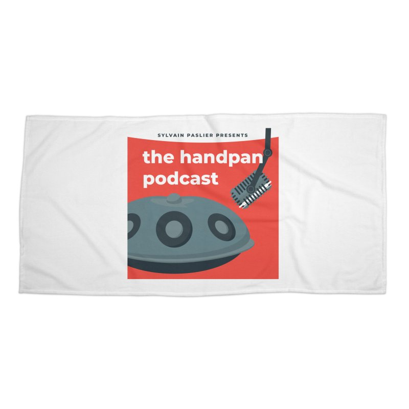 The Handpan Podcast Accessories Beach Towel by Handpan Merch (T-shirts, Hoodies, Accessories)
