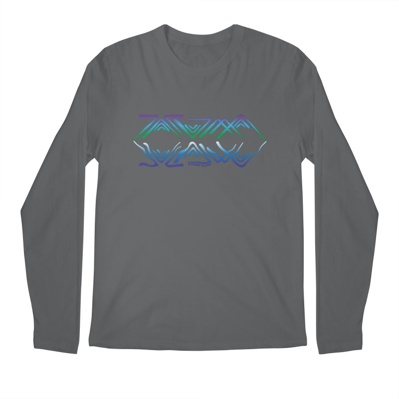 Angular Tacoma - Salish reflections Men's Longsleeve T-Shirt by SymerSpace Art Shop