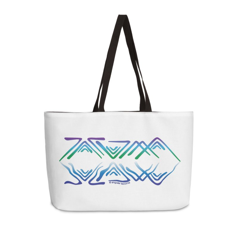 Angular Tacoma - Salish reflections Accessories Bag by SymerSpace Art Shop