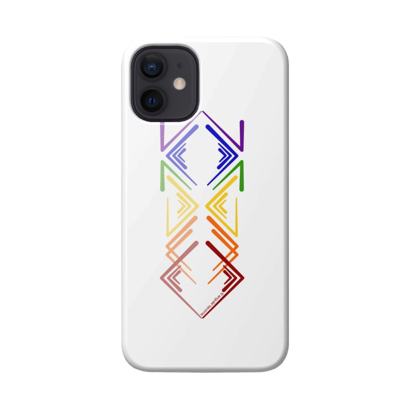 Angular Tacoma - Rainbow Pride Reflection Accessories Phone Case by SymerSpace Art Shop