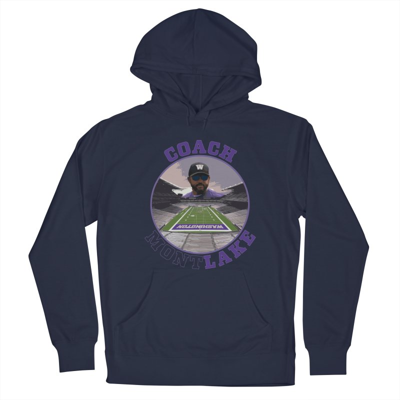 Coach MontLake Men's Pullover Hoody by SymerSpace Art Shop