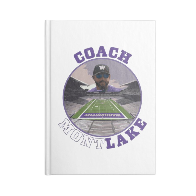 Coach MontLake Accessories Notebook by SymerSpace Art Shop