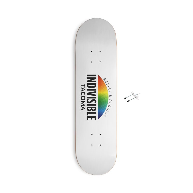 Indivisible Tacoma rainbow dome - black Accessories Skateboard by SymerSpace Art Shop