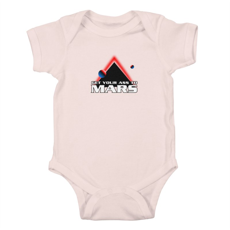 Get Your Ass to Mars Kids Baby Bodysuit by synaptyx's Artist Shop
