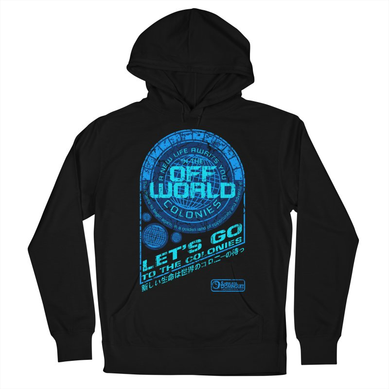 Off World Women's Pullover Hoody by synaptyx's Artist Shop