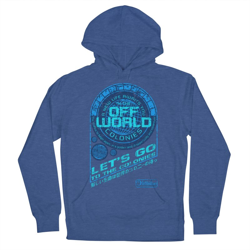 Off World Men's Pullover Hoody by synaptyx's Artist Shop