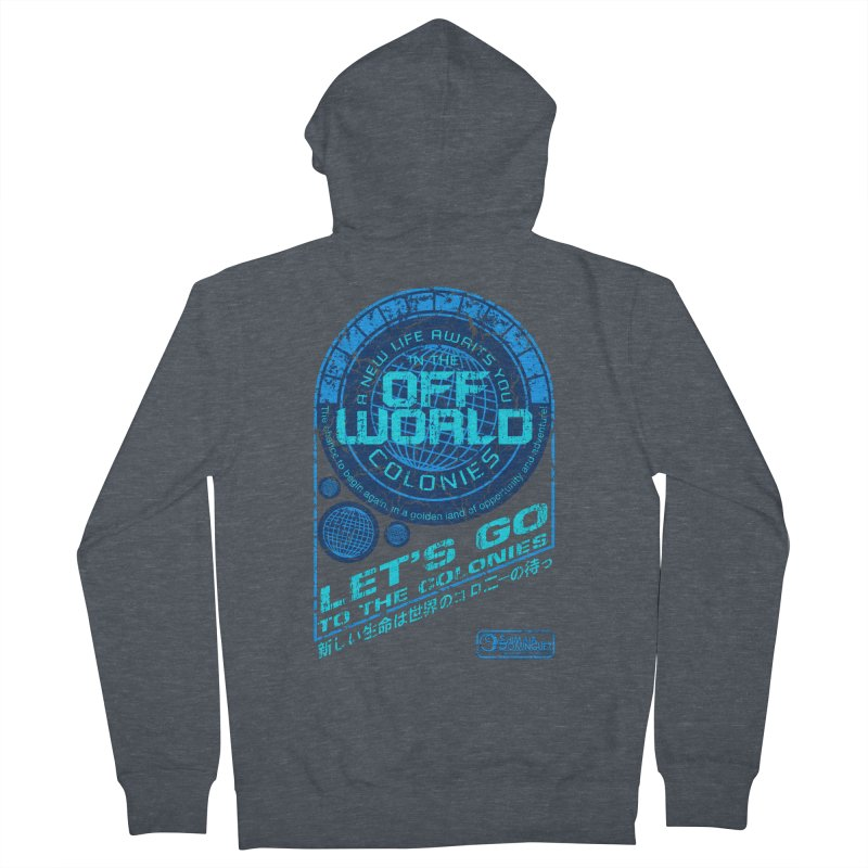 Off World Women's Zip-Up Hoody by synaptyx's Artist Shop