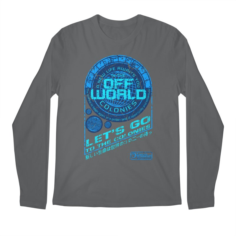 Off World Men's Longsleeve T-Shirt by synaptyx's Artist Shop