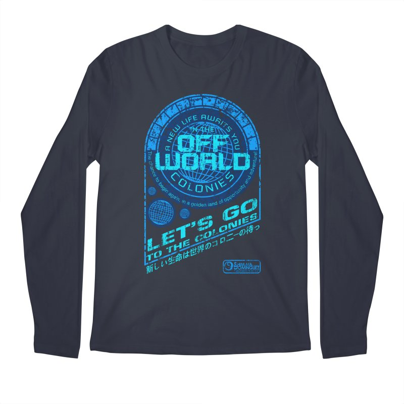 Off World Men's Longsleeve T-Shirt by synaptyx's Artist Shop
