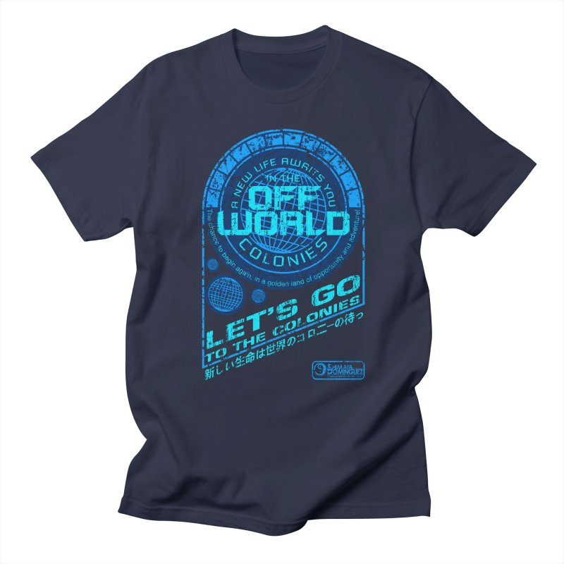 Off World Men's T-shirt by synaptyx's Artist Shop