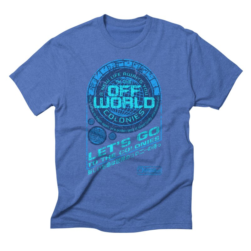 Off World Men's Triblend T-shirt by synaptyx's Artist Shop