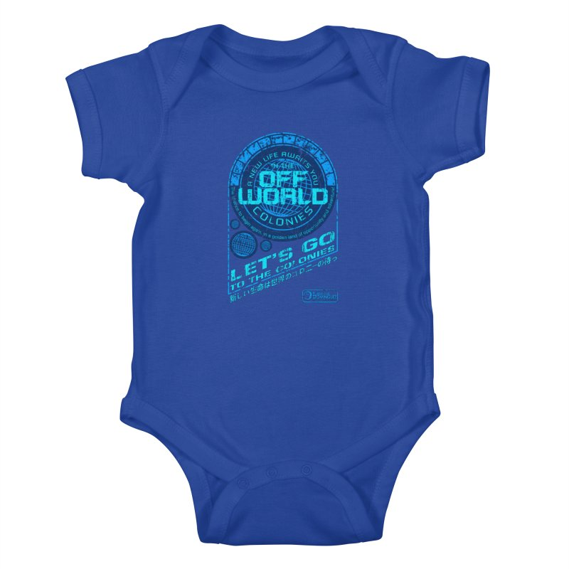 Off World Kids Baby Bodysuit by synaptyx's Artist Shop