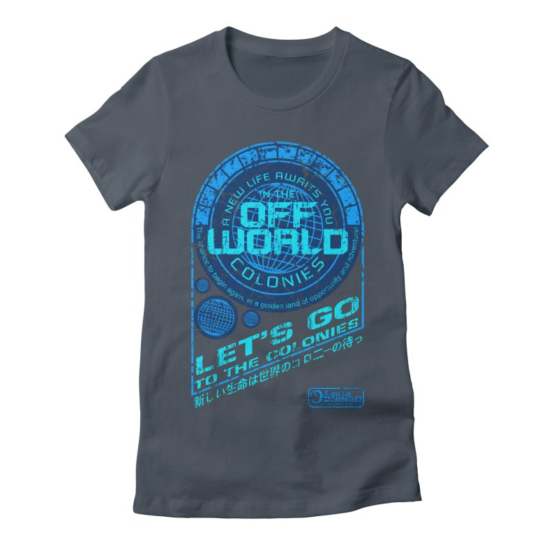Off World Women's T-Shirt by synaptyx's Artist Shop