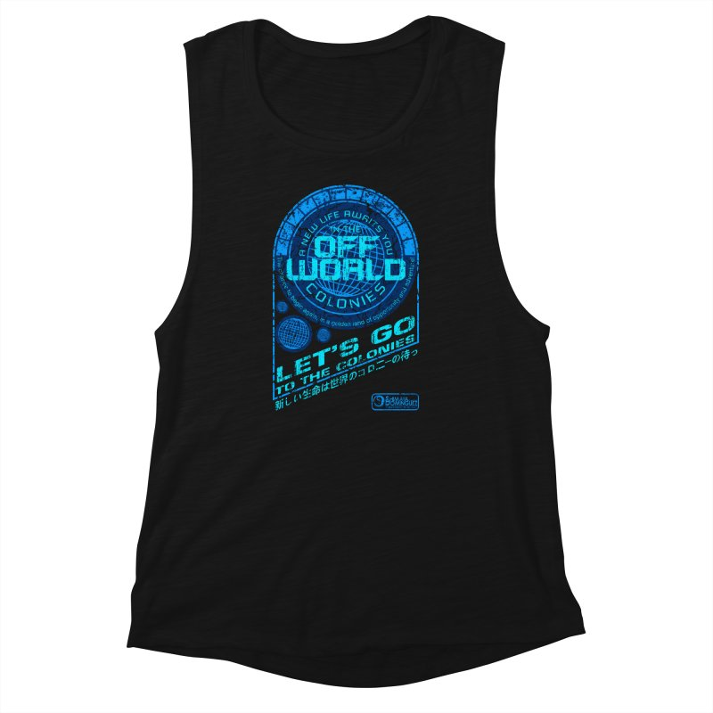 Off World Women's Muscle Tank by synaptyx's Artist Shop