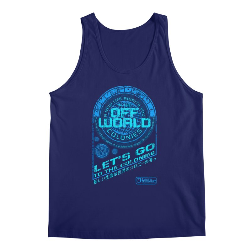 Off World Men's Tank by synaptyx's Artist Shop