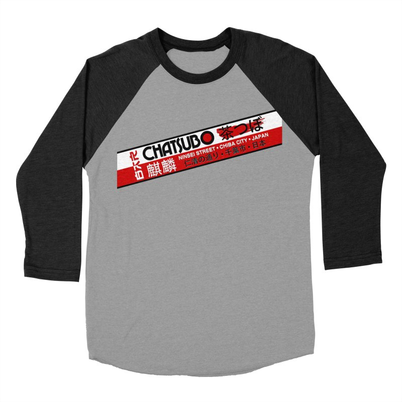 Chatsubo Women's Baseball Triblend T-Shirt by synaptyx's Artist Shop