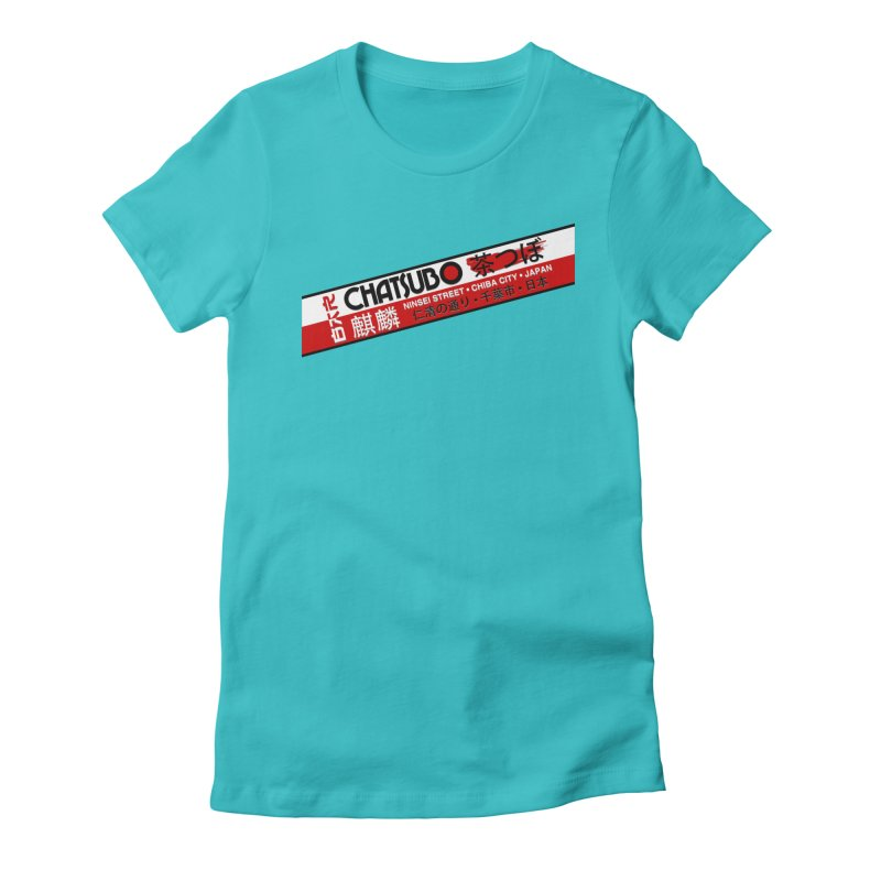 Chatsubo Women's Fitted T-Shirt by synaptyx's Artist Shop