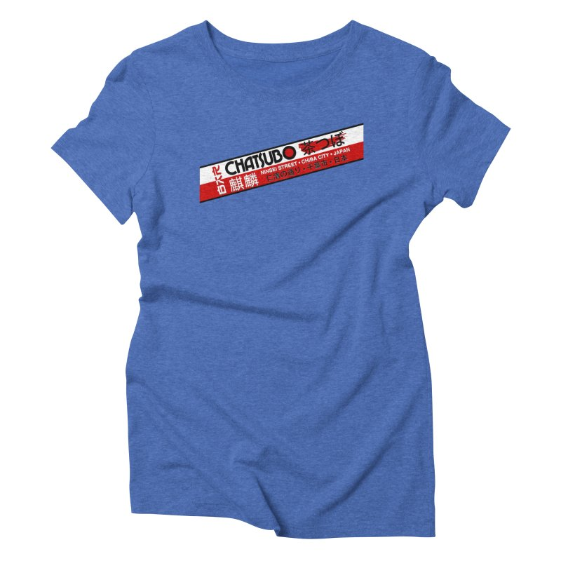 Chatsubo Women's Triblend T-Shirt by synaptyx's Artist Shop