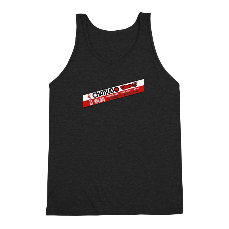 Chatsubo Men's Triblend Tank by synaptyx's Artist Shop