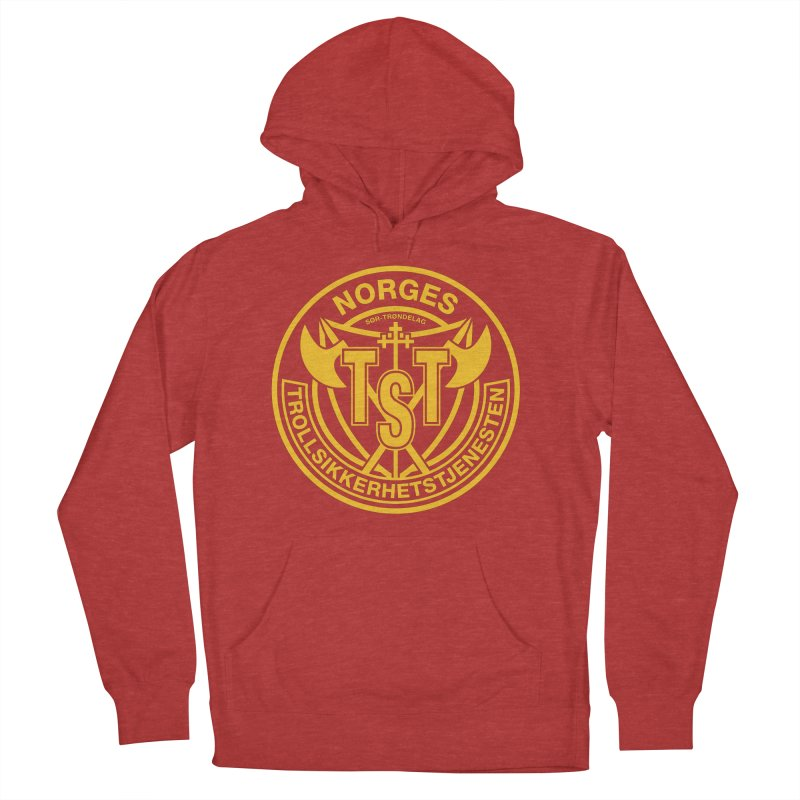 Troll Security service Women's Pullover Hoody by synaptyx's Artist Shop